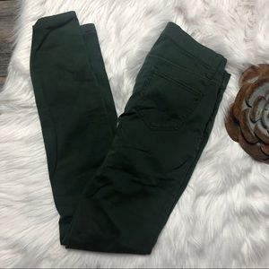 Madewell Jeans - Madewell Jeans Pants 27 Skinny Skinny Deep Green